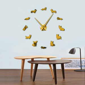DIY Corgi Wall Clock