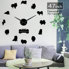 DIY Pomeranian Wall Clock
