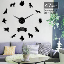 DIY German Shepherd Wall Clock