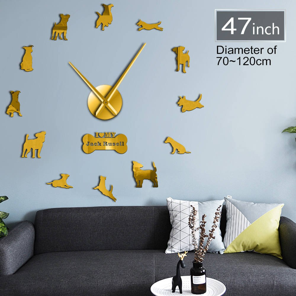 DIY Jack Russell Wall Clock