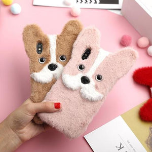3D Fluffy iPhone Case