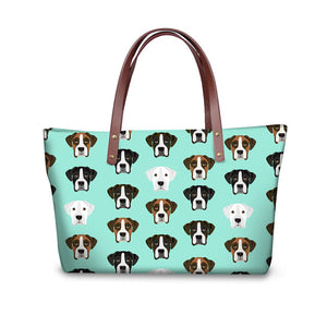 Boxer Dog Shopper Bag