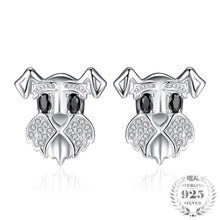 Bonnie Schnauzer Sterling Silver Earrings
