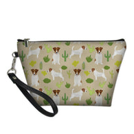 Jack Russell & Cactus Cometic Bag