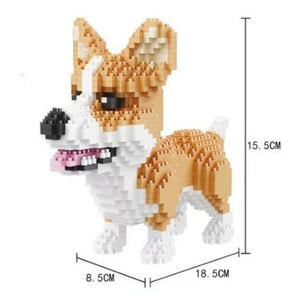 Corgi Diamond Blocks