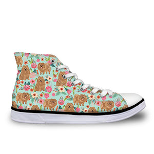 Poms & Flowers Sneakers