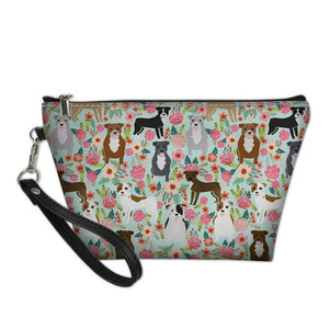 Colorful Staffy Cosmetic Bag