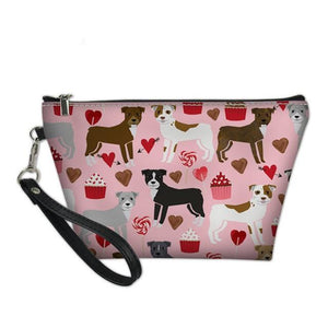 Love Staffy Cosmetic Bag