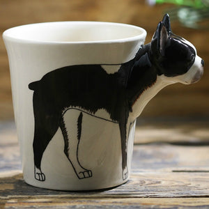 3D Boston Terrier Mug