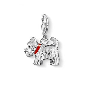 Westie West Highland White Terrier 925 sterling silver pendant charm
