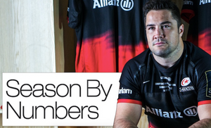 Brad Barritt's Season By Numbers