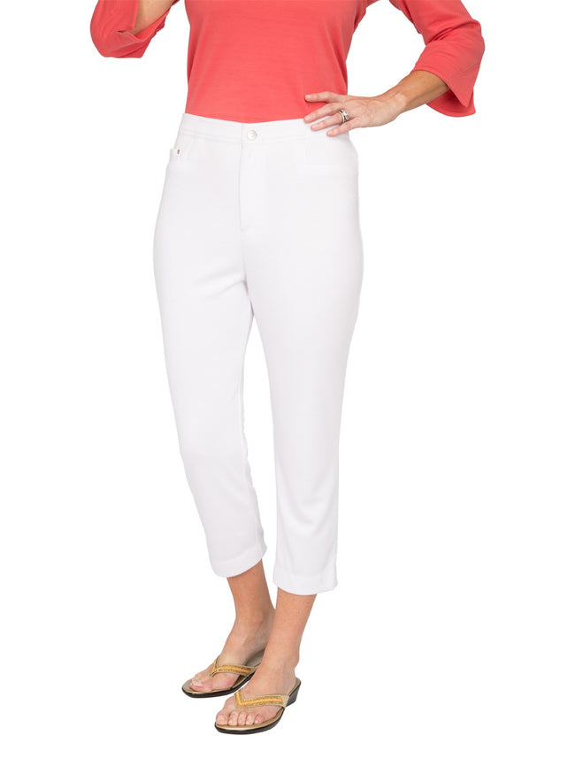 Plaza Separates Knit Capri