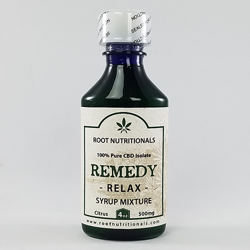 REMEDY - Relax - Syrup Mixture - 4oz - 500mg