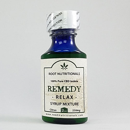 REMEDY - Relax - Syrup Mixture - 2oz - 250mg