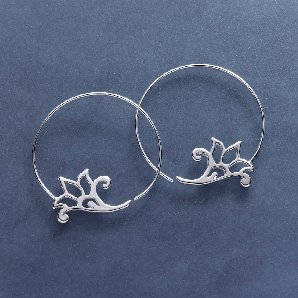 Water Lily Earring