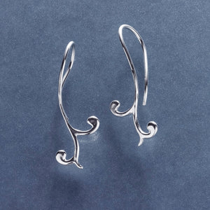 Mini Front Curl Earring