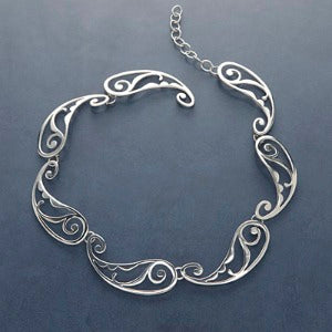 Paisley Link Necklace