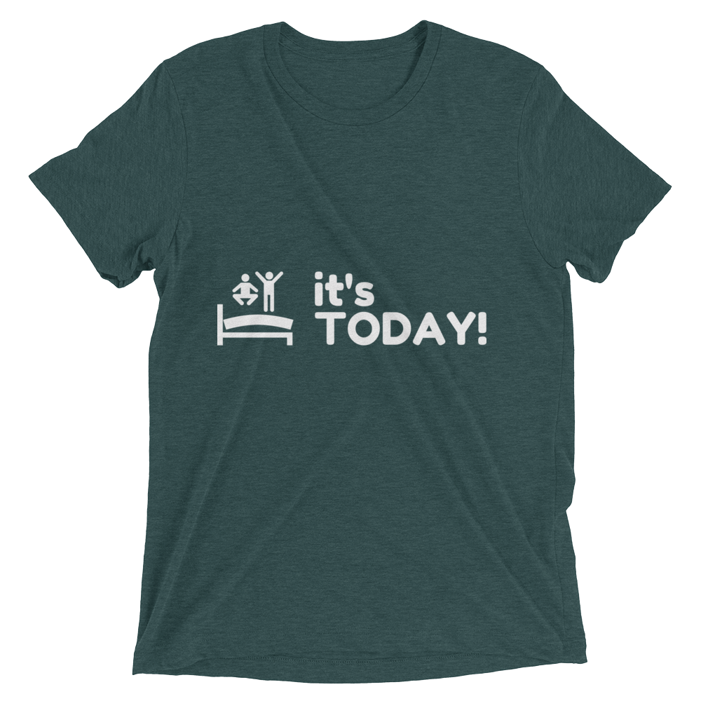 It's TODAY! Short Sleeve t-shirt - Womens | Multicolored