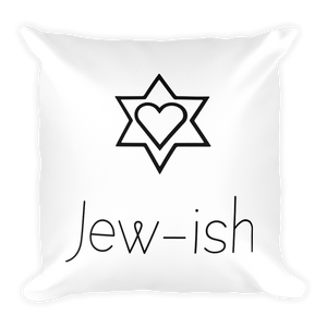 Jew-ish Square Pillow