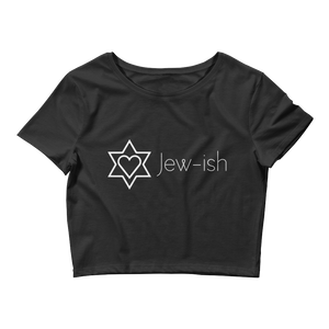 Jew-ish - Women's Crop Tee