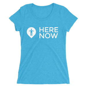 Here Now Ladies' short sleeve t-shirt