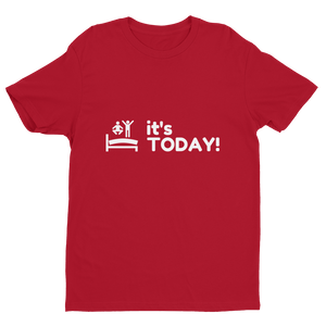 It's Today! Shirt - Mens | Multicolored with White Print