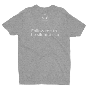Silent Storm - Follow Me to the Silent Disco Short Sleeve T-shirt - Mens | Multicolored