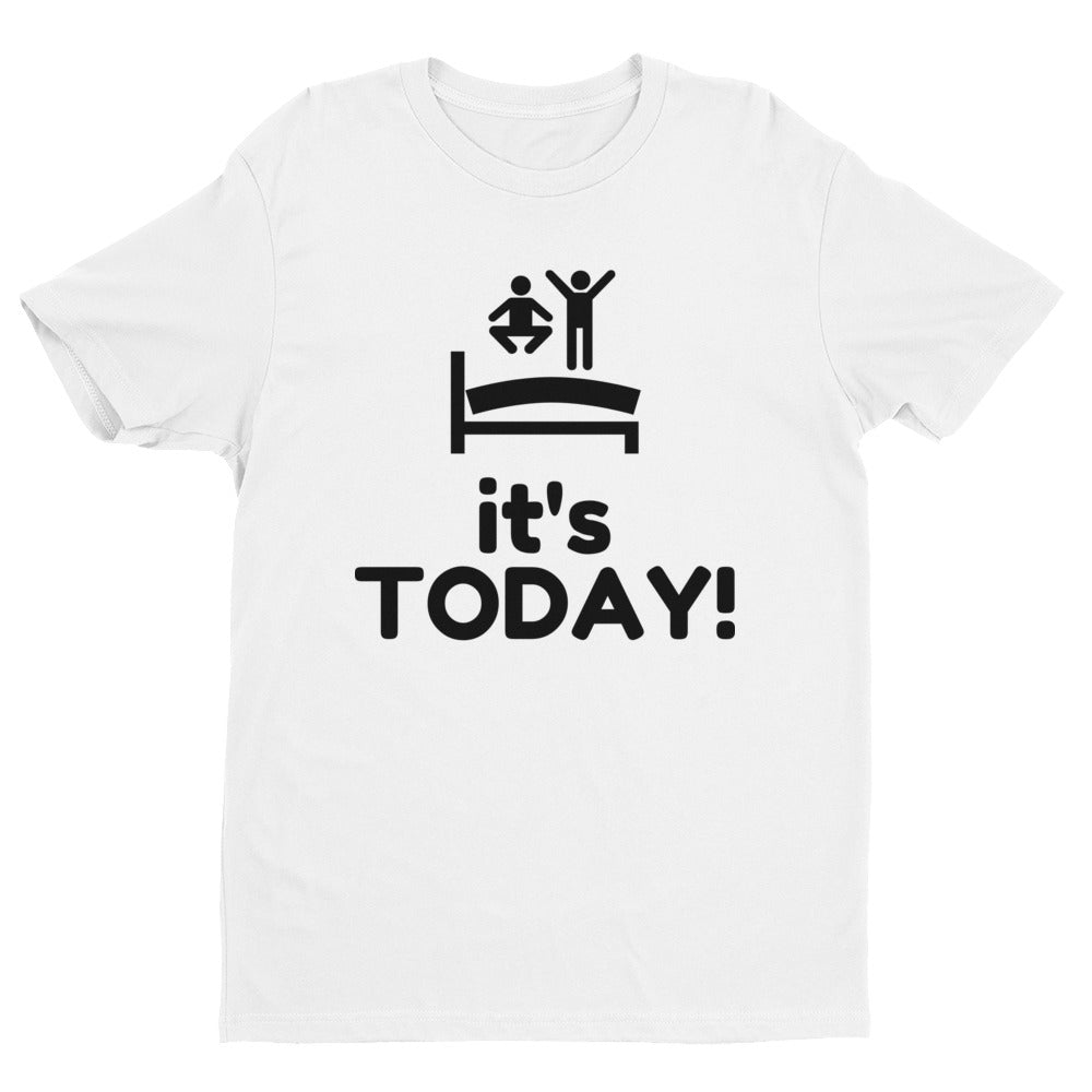 It's TODAY! T-shirt - Mens | White with Black Print