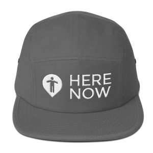 Here Now Five Panel Cap