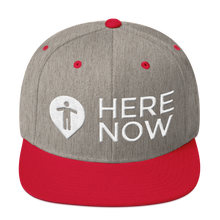 Here Now Snapback Hat