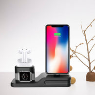 3-In-1 iPhone + AirPods + Apple Watch Charging Dock Station