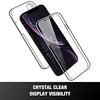360-Degree Front And Back Clear Case For All iPhone Models With Built-In Screen Protector