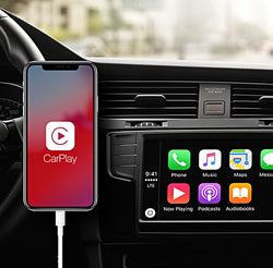 CarPlay USB Dongle For Any Android-Based Car Headunit With Steering Wheel Button Control