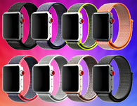 Apple Watch Sport Loop-Like Comfortable Nylon Band In All Colors