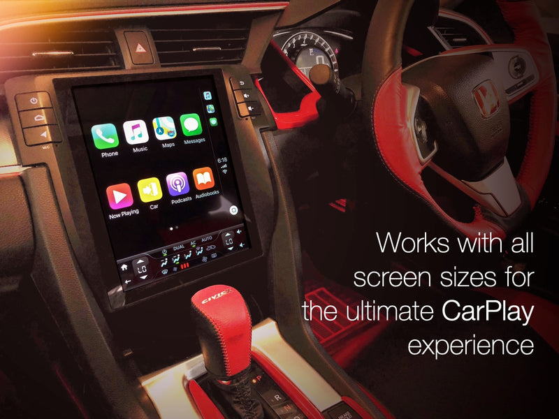 Apple Carplay Usb Dongle For Any Car With Steering Wheel Button