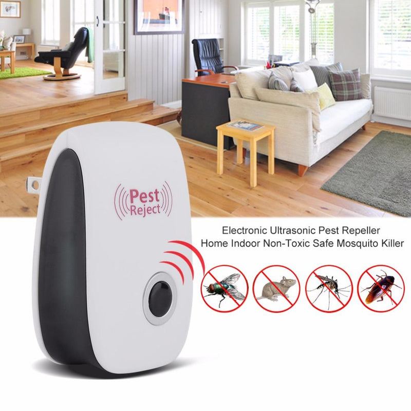 Ultrasonic Pest Repeller - Anti Mosquito, Rat, Cockroach & Other Insects
