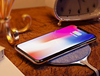 Fast Qi Wireless Charger With Soft Denim Fabric Finish For iPhone & Android