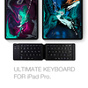 Foldable Keyboard For iPad - Also Works With Windows, iOS, Mac, Android