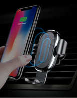 Gravity Auto-Locking Car Wireless Charger For iPhone & Android
