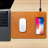 Mouse Pad With Wireless Charging For iPhone & Android