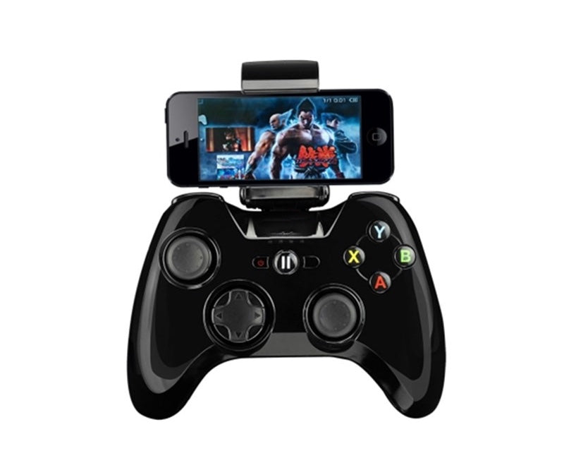 Apple MFi-Certified Game Controller With Phone Clip For iOS, Apple TV, Android