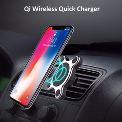 Magnetic Wireless Car Charger Mount 1