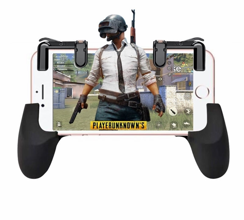 iPhone Gaming Grip Controller + L1/R1 Triggers For PUBG, Fortnite, More