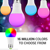 RGB Color LED Smart Light Bulb With Amazon Alexa, Google Assistant Support