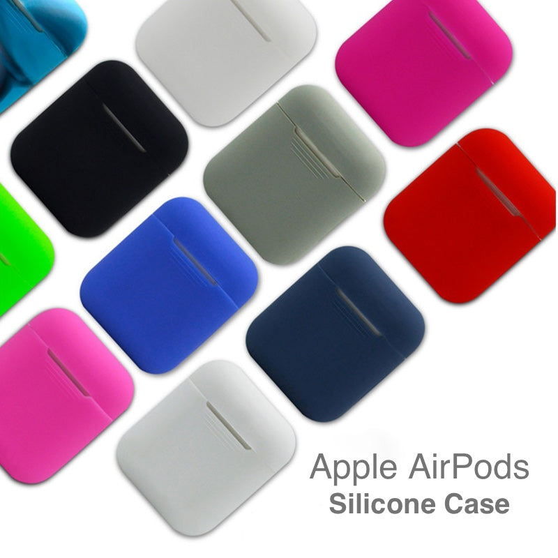 Apple AirPods Tight-Fit Silicone Case - Multiple Colors