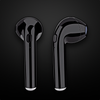 AirPods-Style Truly-Wireless Bluetooth Earphones In Black Color With Charging Case