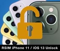 RSIM Unlock For iPhone 11, Pro And Older Models On iOS 13 - Works On Unlocking T-Mobile US And Sprint Models Only