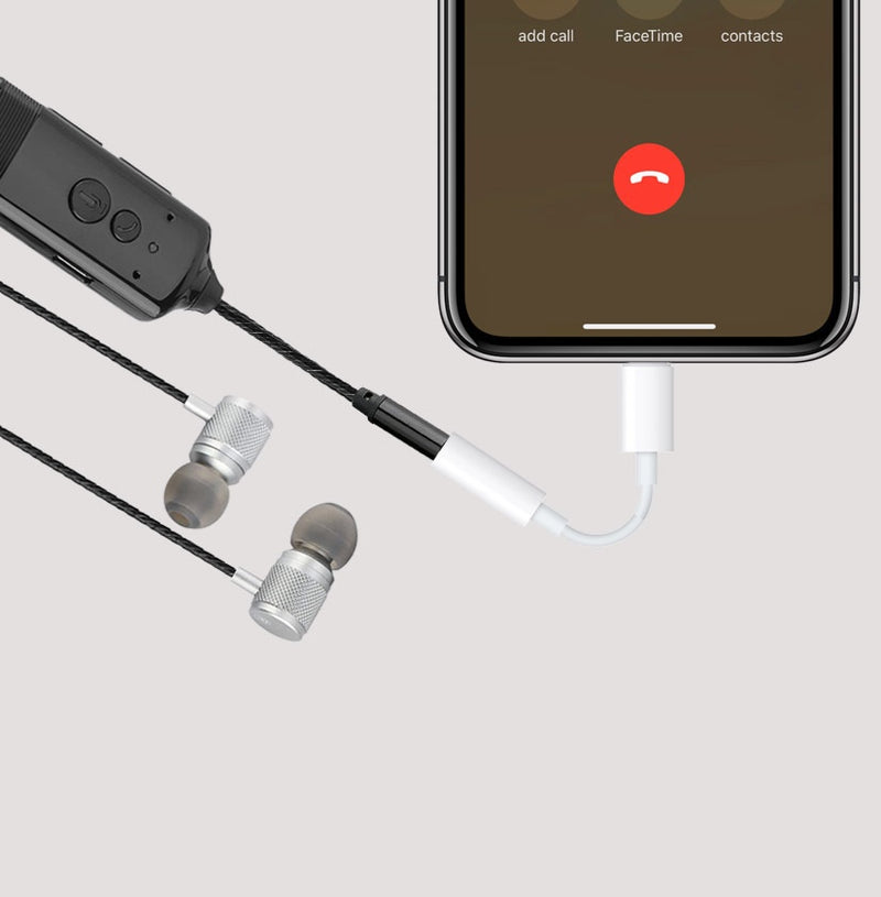 iPhone Call Recording Headphones For Cellular, WhatsApp, FaceTime, Skype & Messenger Calls