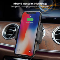 One-Handed Advanced Smart Car Wireless Charger For iPhone & Android