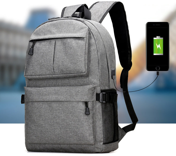 Tech Backpack With Built-In USB Charging Port